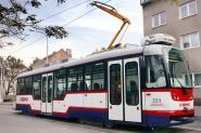 nové tramvajové vozidlo typu VarioLF