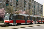 modernisation of tram KT8D5 onto KT8D5.RN2