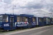 dodávka starších tramvají typu KT8D5